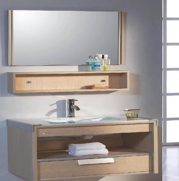 Meuble salle de bain danao meuble salle de bain contemporain 80x48x48 - Meuble salle de bain contemporain ...
