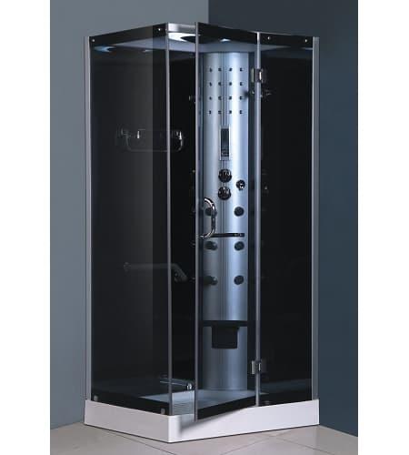 Douche hydromassante salle de bain kaloua cabine de - Douche al italienne pas cher ...