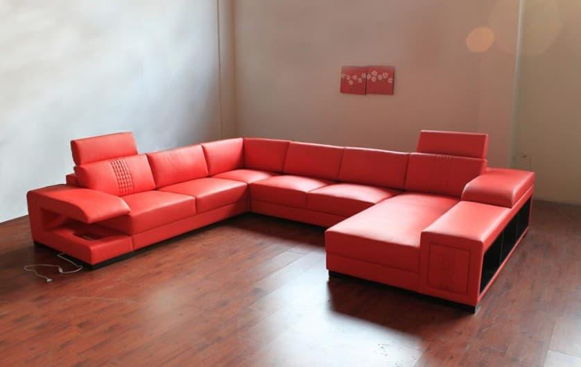 canape panoramique cuir salon nemosa canape cuir 6 places 374x292x180. Black Bedroom Furniture Sets. Home Design Ideas
