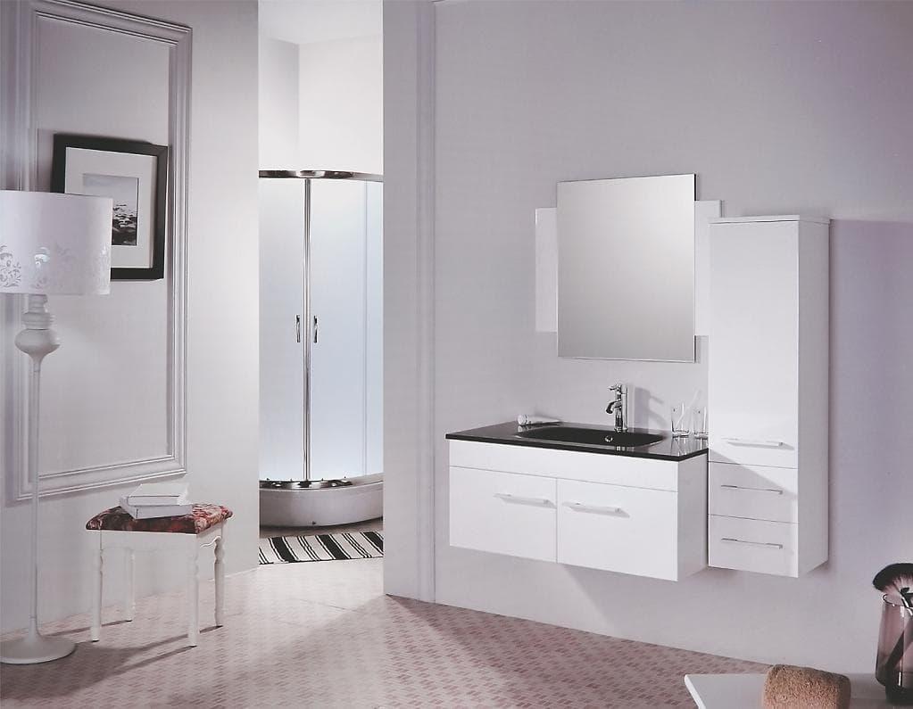 Tysa meuble salle de bain laqu tysa 95x57x42 ebay - Ebay meuble salle de bain ...