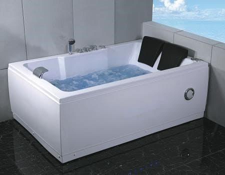 baignoire droite salle de bain salusa1 baignoire 2 places hydromassante toutes options. Black Bedroom Furniture Sets. Home Design Ideas