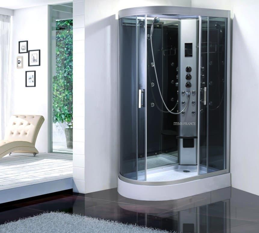 salle de bain douche hammam paris hammam cabine de douche hydromassante hammam 120x80x215. Black Bedroom Furniture Sets. Home Design Ideas