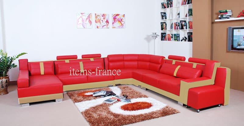 LIVIDA-Canape-cuir-7-rouge-et-creme-places-375x337x180