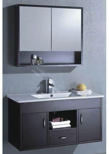 Mairena meuble salle de bain contemporain 100x46x52 ebay - Ebay meuble salle de bain ...