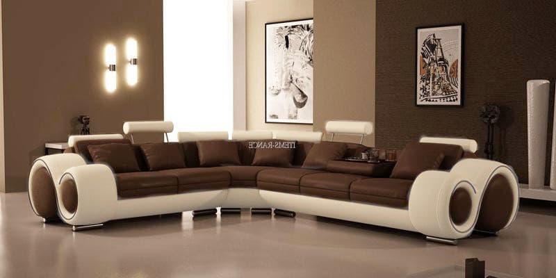 Canap d 39 angle cuir hawai 3 canap d 39 angle blanc marron en cuir 6 - Canape cuir made in france ...