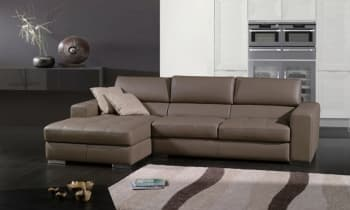 CANAPE CUIR 4 PLACES 275x157x86