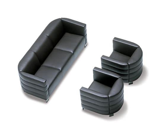 canap canap droit cuir class canap cuir 3 places 211x86x41. Black Bedroom Furniture Sets. Home Design Ideas