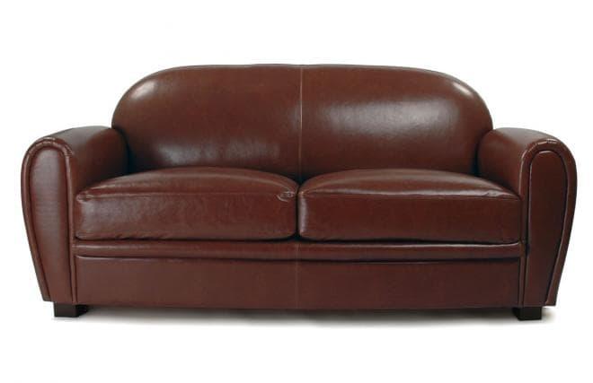 canap droit cuir club 2 places canap club 2 places. Black Bedroom Furniture Sets. Home Design Ideas