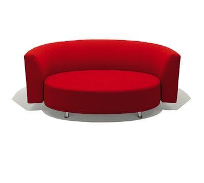 canap droit tissus aokland canap rond 3 places 195x85x73. Black Bedroom Furniture Sets. Home Design Ideas