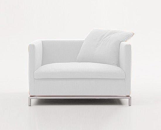 canap droit tissus firm 36 blanc fauteuil tissu blanc. Black Bedroom Furniture Sets. Home Design Ideas