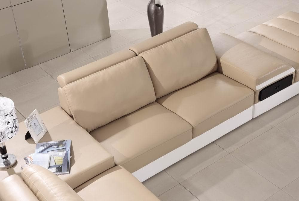 Canap panoramique cuir elegancia canap cuir 6 places for Nouvelle collection canape