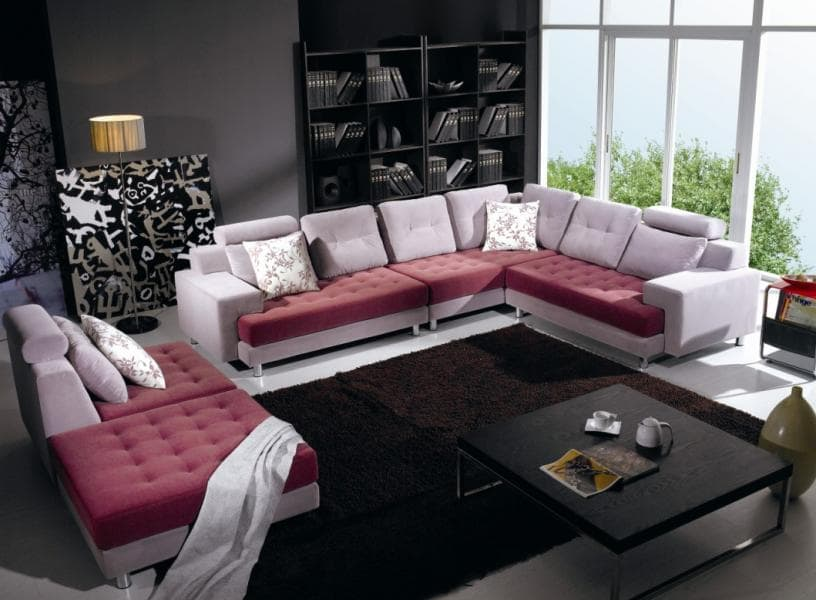 canap panoramique tissu montana canap contemporain. Black Bedroom Furniture Sets. Home Design Ideas