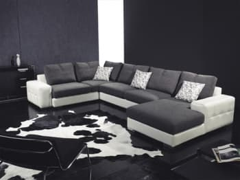 canap panoramique tissu pr sentation des produits pas cher items france. Black Bedroom Furniture Sets. Home Design Ideas