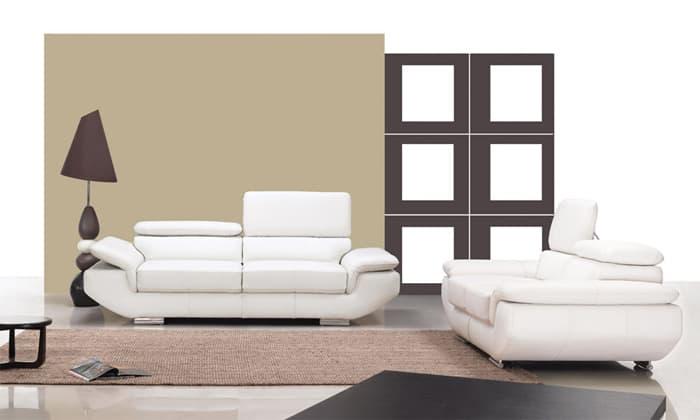ensemble canap cuir barletta ensemble canap cuir 5 places 226x100 186x100. Black Bedroom Furniture Sets. Home Design Ideas