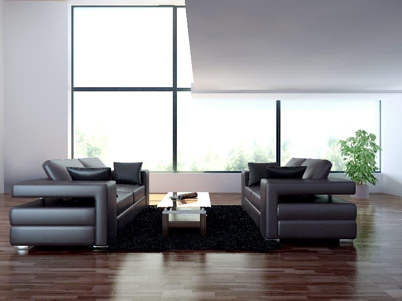 Ensemble canap cuir philadelphie ensemble canap cuir 5 places 211x98 16 - Produit entretien canape cuir ...
