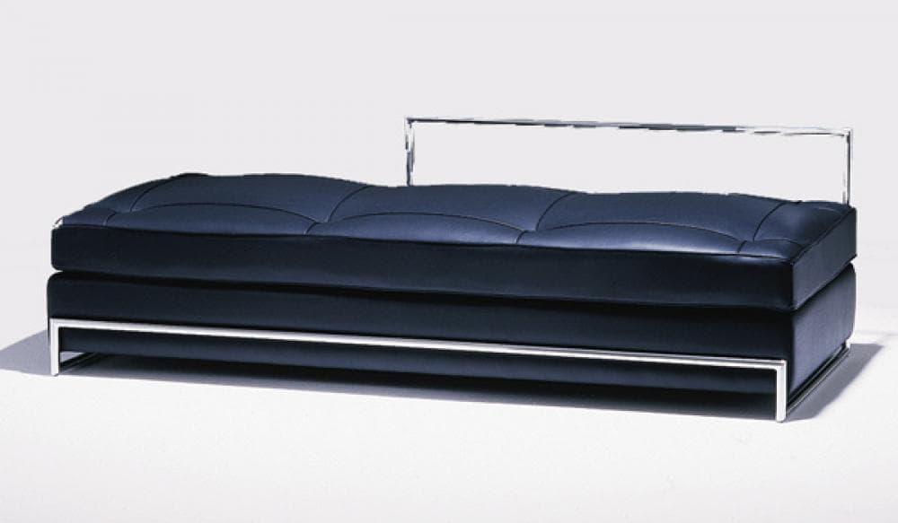 canap m ridienne ezarro meridienne cuir italien. Black Bedroom Furniture Sets. Home Design Ideas