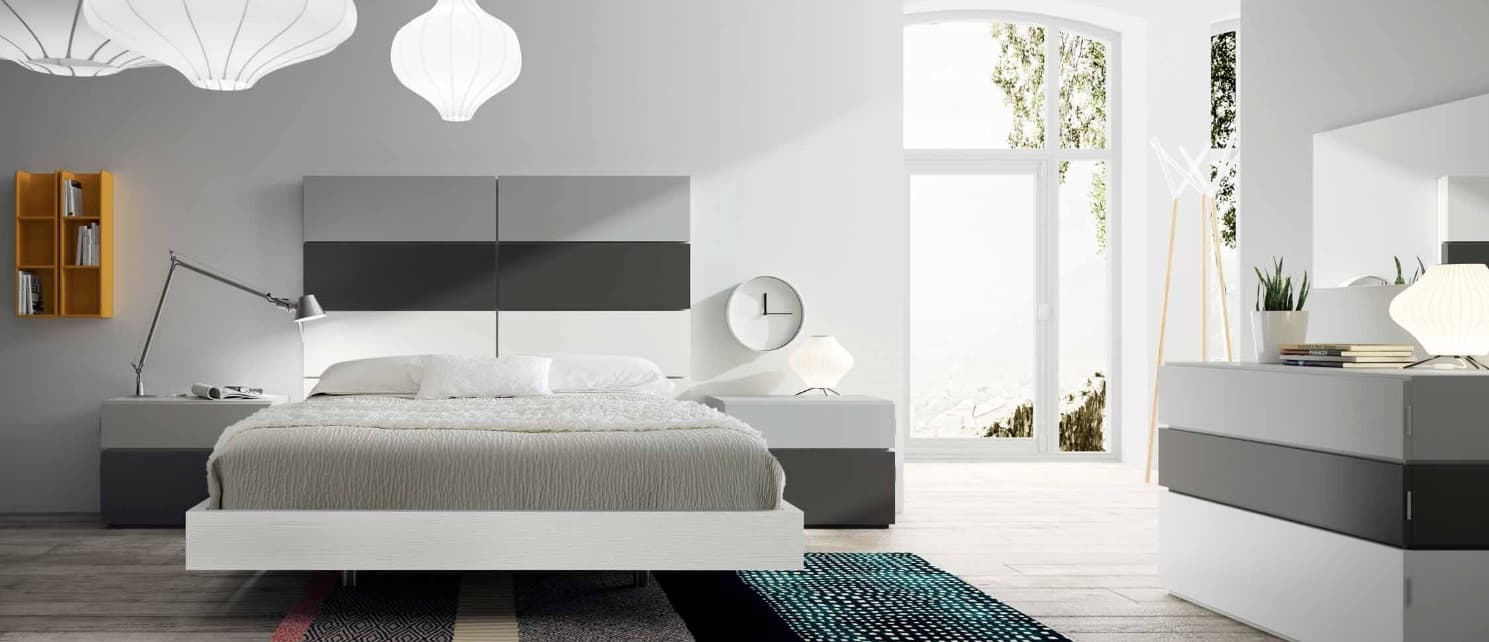 lit rectangle ambiance bois chambre adulte cosy lit adulte design avec chevets personnalisable. Black Bedroom Furniture Sets. Home Design Ideas