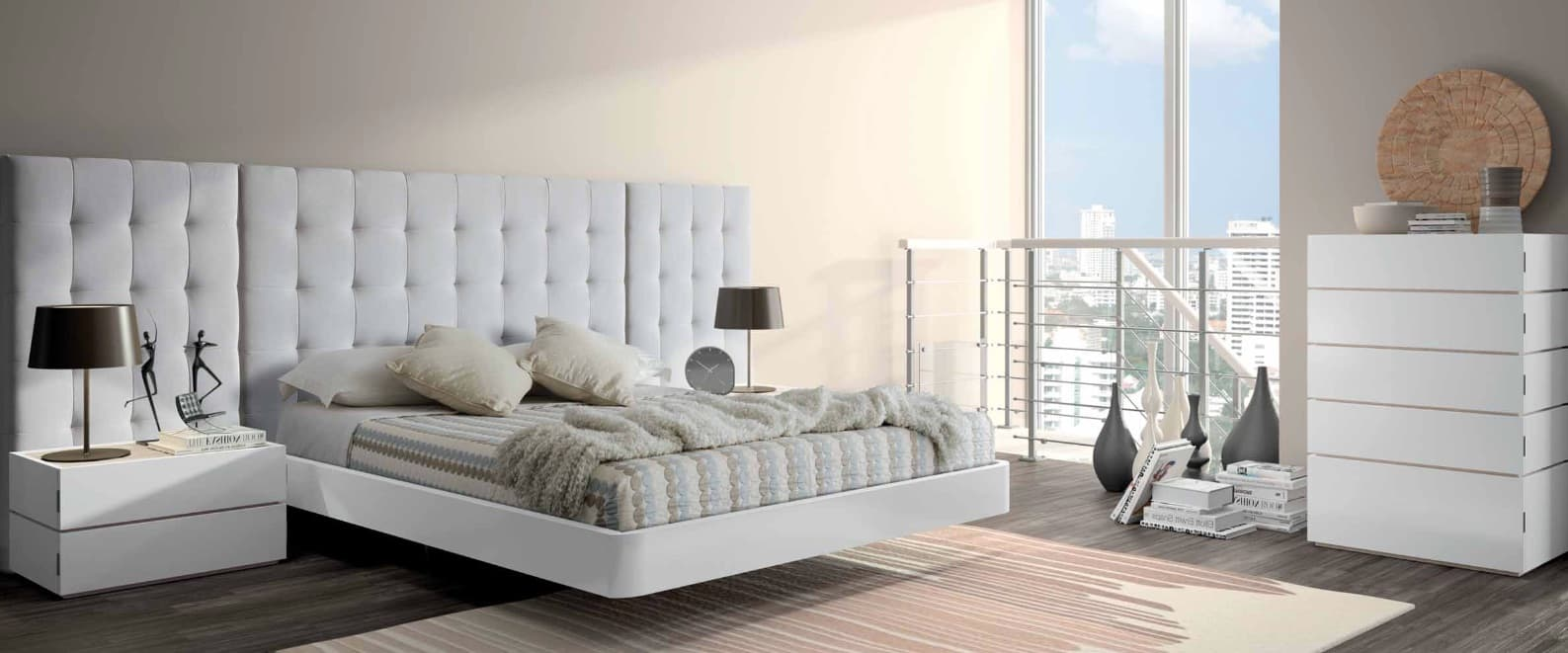 Lit rectangle ambiance bois chambre adulte inspiration for Ambiance chambre adulte