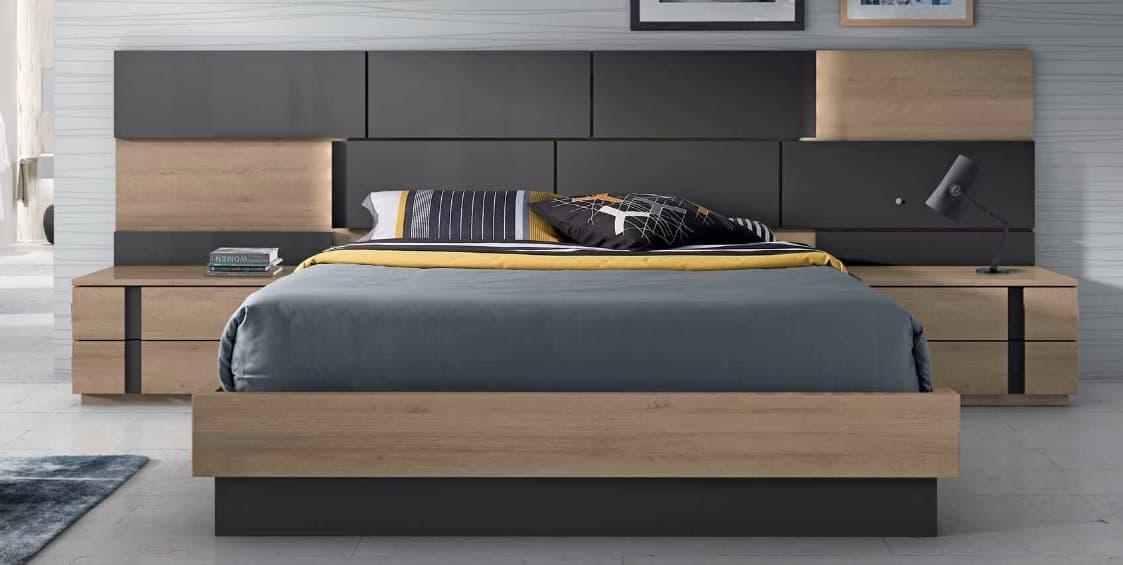 lit adulte en bois free pont de lit bois with lit adulte en bois top lit adulte rangements. Black Bedroom Furniture Sets. Home Design Ideas