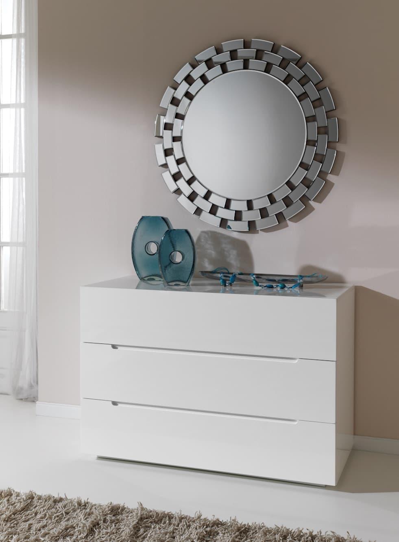 Luminaire et d co miroir asheville miroir mural for Miroir 90x90