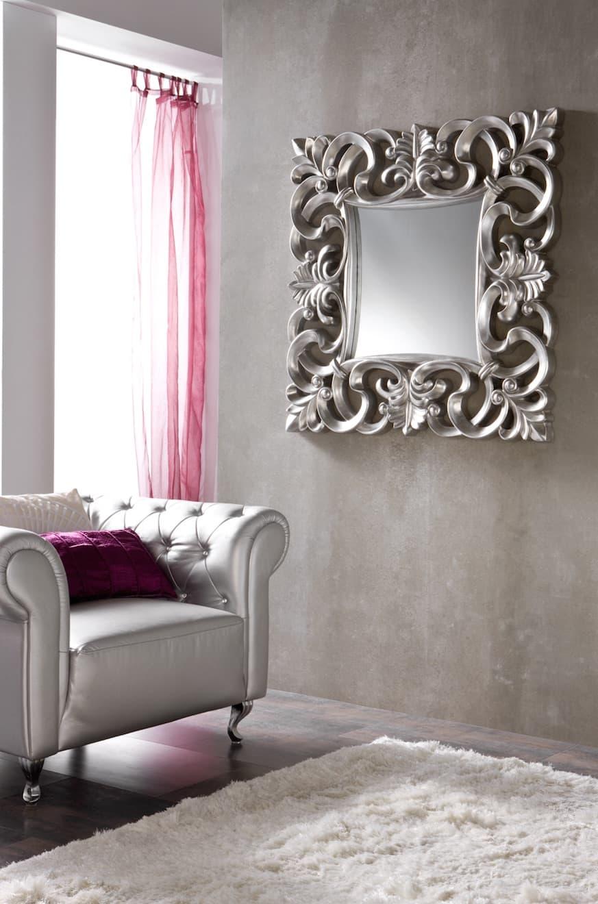 Luminaire et d co miroir athena 3 miroir mural for Miroir 100x100