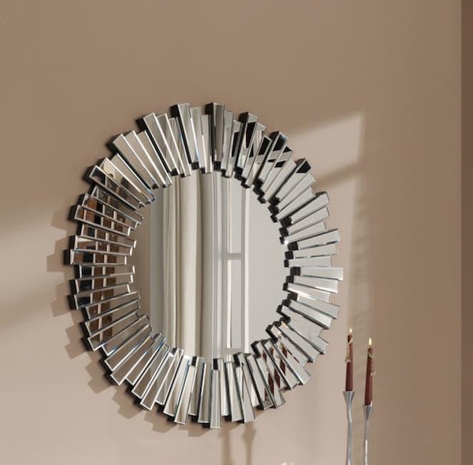 Luminaire et d co miroir saragosse miroir mural for Miroir 100x100