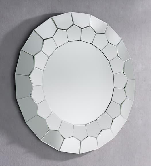 Luminaire et d co miroir sassari miroir mural design for Miroir 100x100
