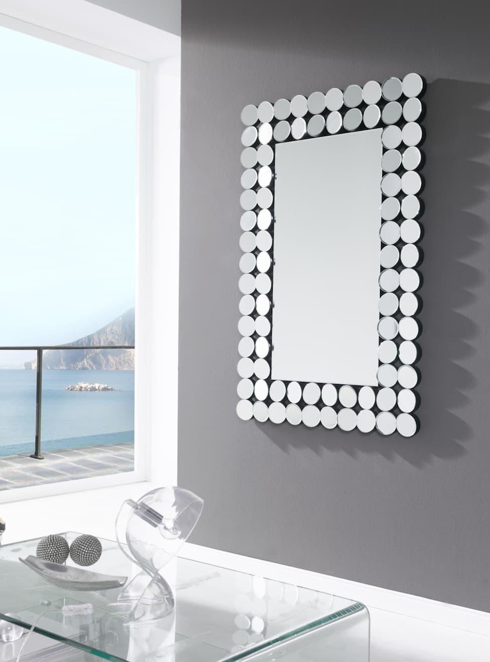 Luminaire et d co miroir verone miroir mural design for Deco miroir mural