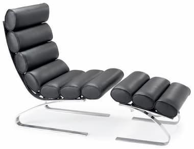 meuble d assise chaise longue cuir eleona 5 chaise longue cuir italien 57x92x96 - Chaise Longue Cuir