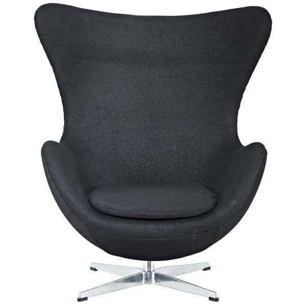 mobilier design meuble tendance noir fauteuil en tissu 87x82x112. Black Bedroom Furniture Sets. Home Design Ideas