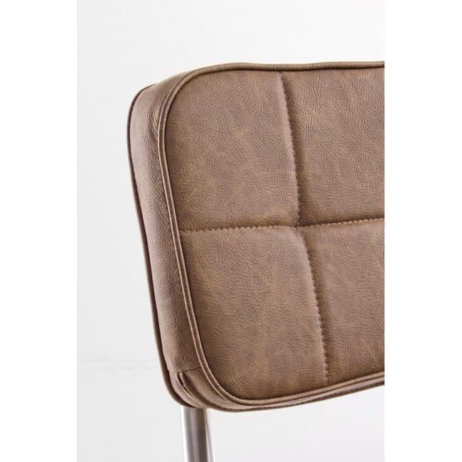 mobilier industriel meuble chaise marron vintage chaise balzac marron vintage. Black Bedroom Furniture Sets. Home Design Ideas