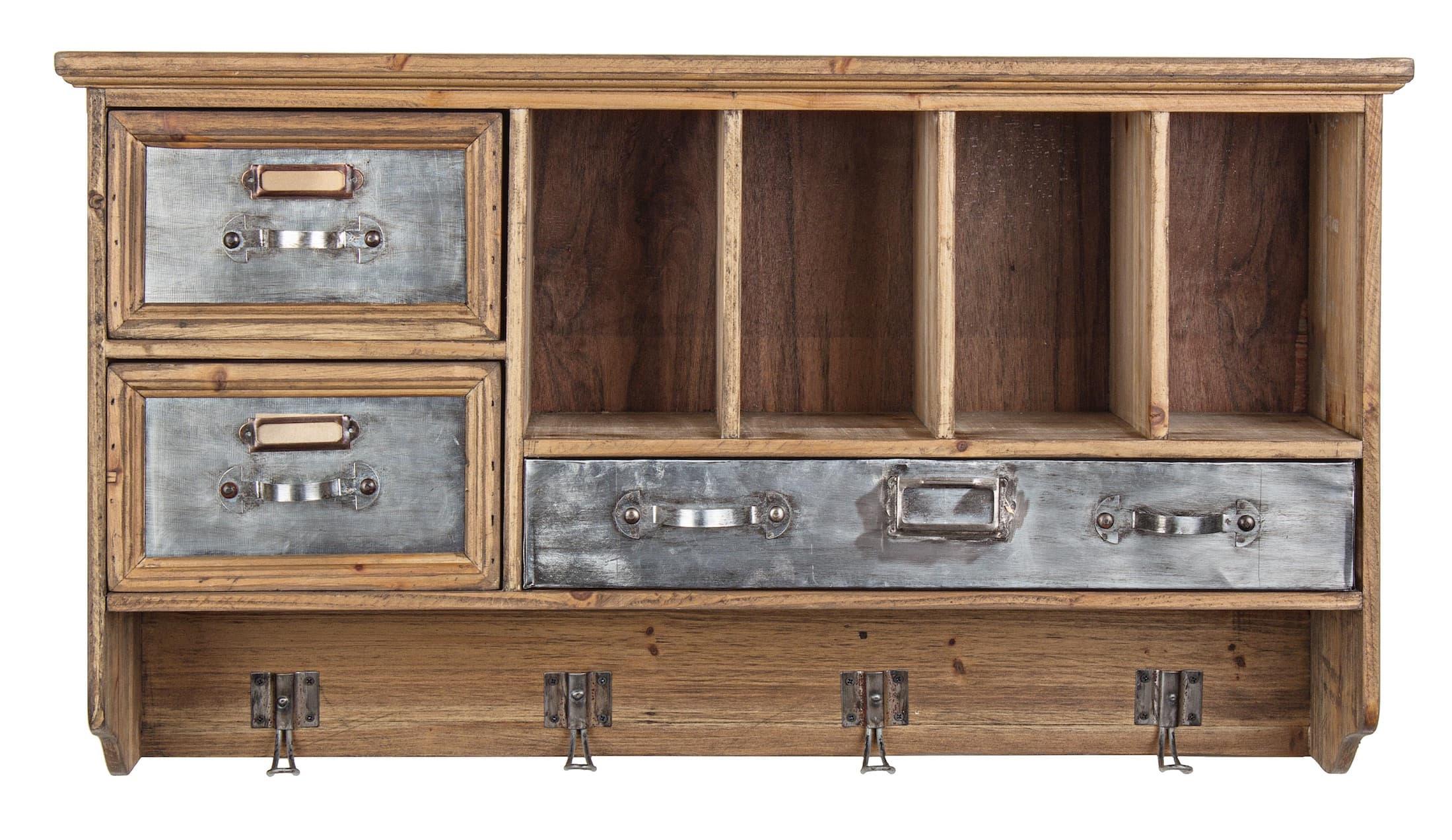 Mobilier industriel meuble officina 3t 4c etagere for Mobilier industriel