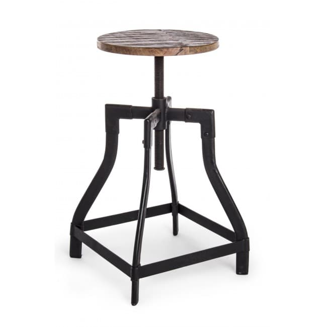 mobilier industriel meuble tabouret reglable tabouret reglable. Black Bedroom Furniture Sets. Home Design Ideas