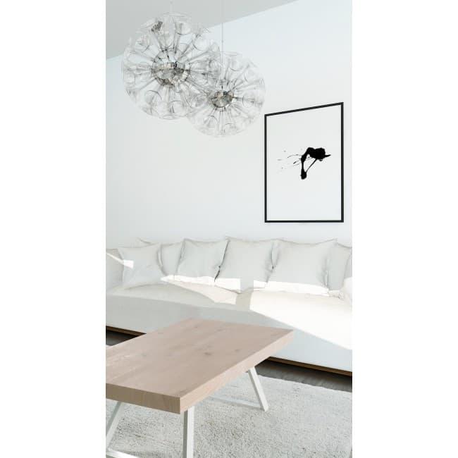 mobilier nature et bois meuble table basse chene blanchi table basse blanche chene blanchi. Black Bedroom Furniture Sets. Home Design Ideas
