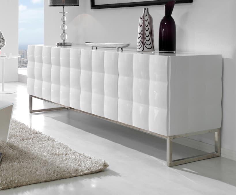 Buffet design pas cher stunning meuble buffet design pas for Salle a manger warren