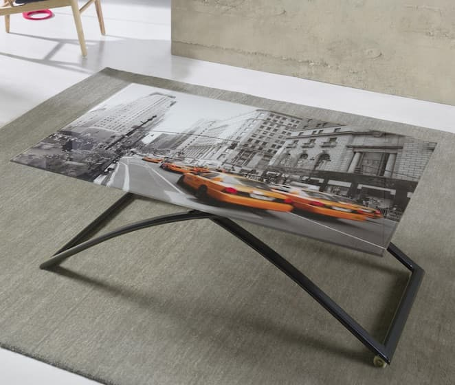 Salle a manger table rectangulaire new york table for Salle a manger new york
