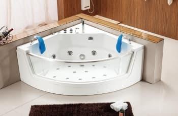 Salle de bain baignoire d 39 angle pr sentation des produits pas cher it - Baignoire d angle 130x130 ...