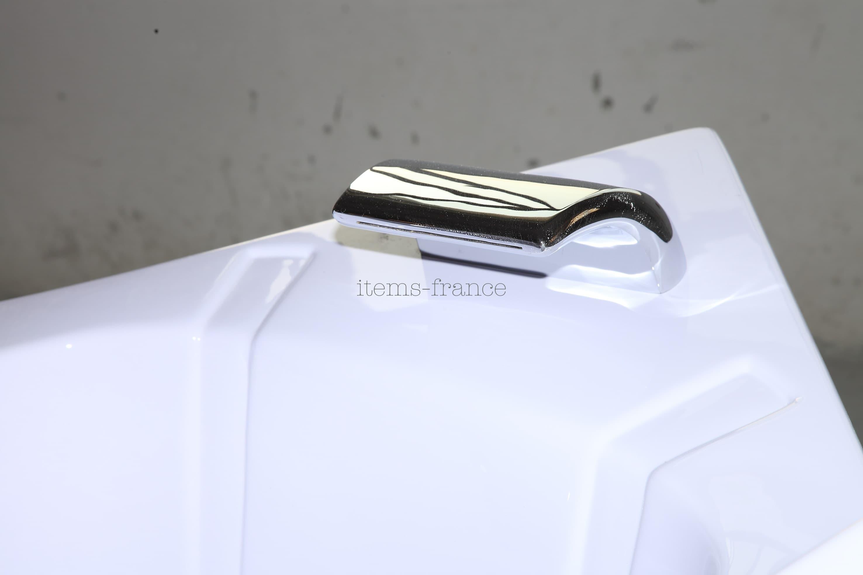 Baignoire d angle   salle de bain   nimosa2 : baignoire balneo ...