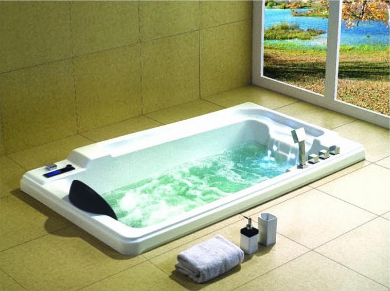 Salle de bain baignoire droite alexandrie baignoire balneotherapie 186x106 - Baignoire balneotherapie ...