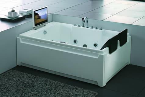Salle de bain baignoire droite messina baignoire 2 - Baignoire 2 places pas cher ...