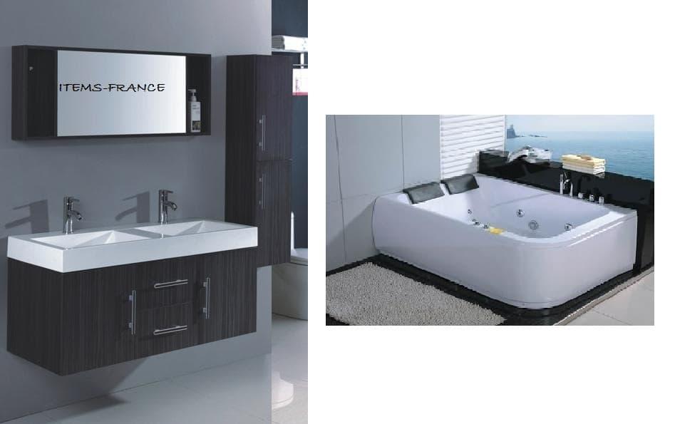 salle de bain baignoire droite mislata 3 jina baignoire 2 places hydromassante. Black Bedroom Furniture Sets. Home Design Ideas