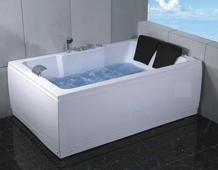 Salle de bain baignoire droite salusa2 baignoire 2 - Baignoire 2 places pas cher ...