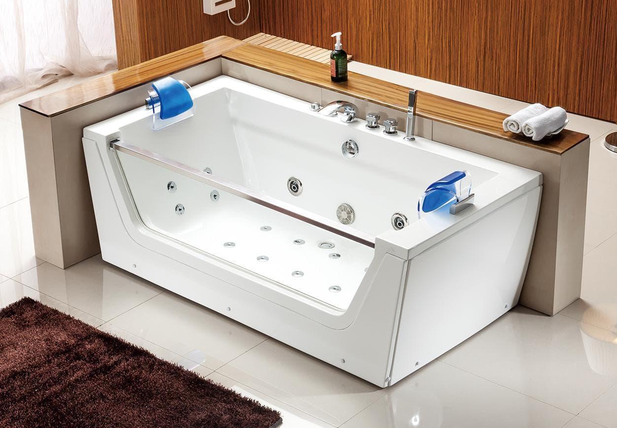 Salle de bain baignoire droite tilua2 baignoire for Dimension baignoire droite