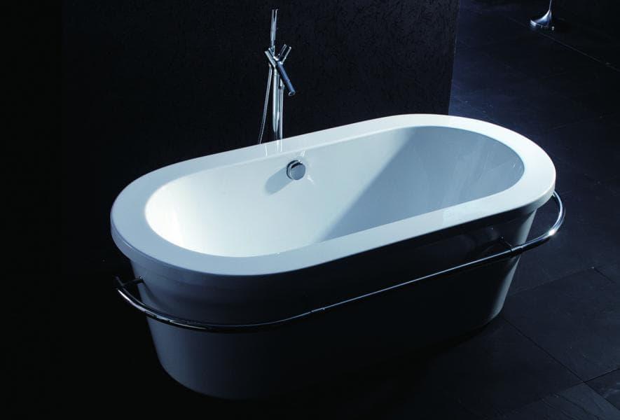 Salle de bain baignoire ilot alicante baignoire ilot for Baignoire ilot angle