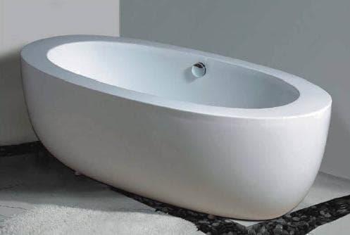 Salle de bain baignoire ilot noto baignoire ilot contemporaine 175x85x60 - Baignoire pas cher belgique ...