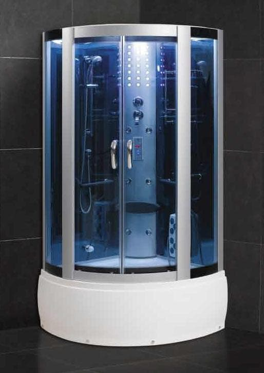 Salle de bain douche hammam fabriano hammam douche hydromassante 100x10 - Douche hammam pas cher ...