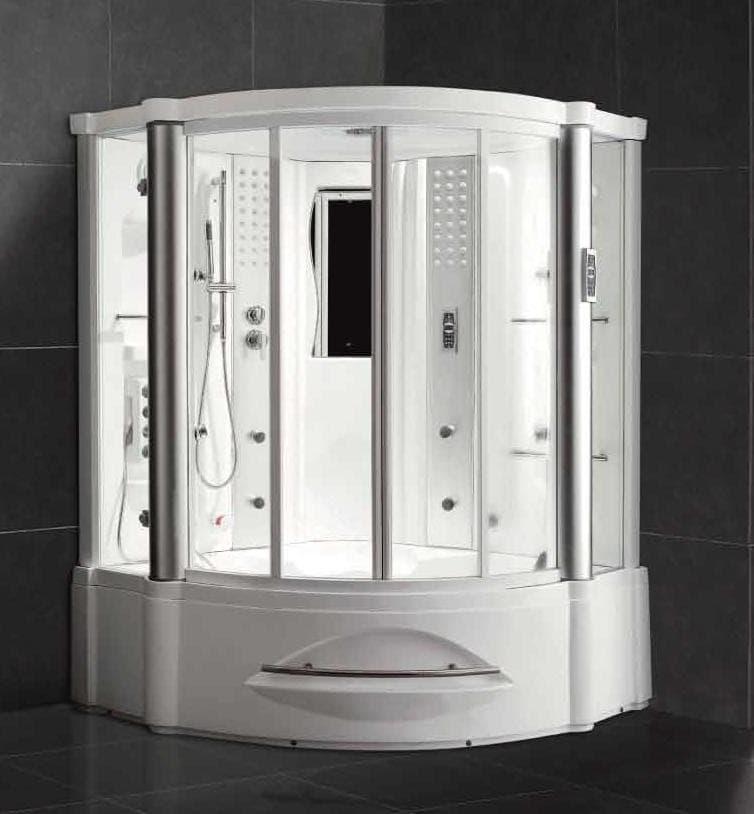 salle de bain douche hammam florence hammam douche hydromassante 150x150x220. Black Bedroom Furniture Sets. Home Design Ideas