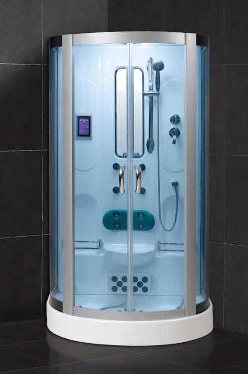 Salle de bain douche hammam gene hammam douche hydromassante 120x88x215 - Douche sauna hammam pas cher ...