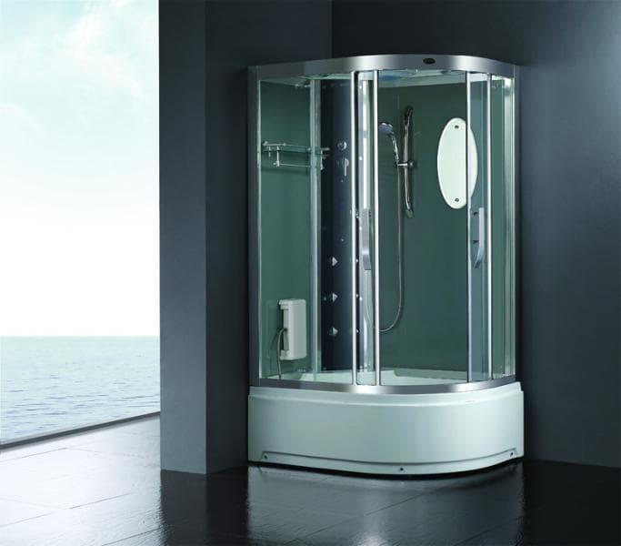 Salle de bain douche hammam malaga hammam douche hydromassante 120x85x215 - Douche sauna hammam pas cher ...