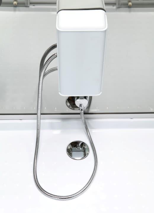 Salle de bain douche hydromassante duo hammam cabine de douche hydromas - Douche hammam 2 personnes ...
